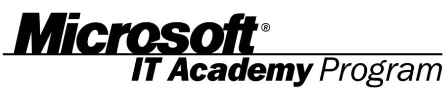This shows the Microsoft IT Academy logo
