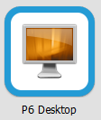 VMware View P6 Desktop.