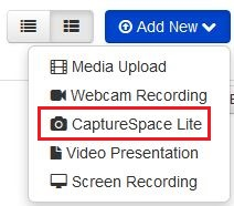 CaptureSpace lite button
